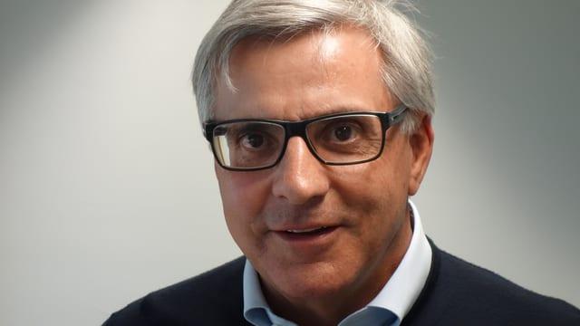 Silvio Catrina, il president dal cussegl d'administraziun da las Pendicularas Spleia-Tambo SA.