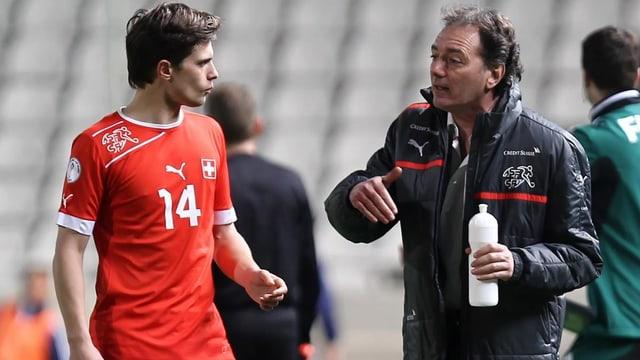 Mittelfeldspieler Valentin Stocker zeigte gegen Zypern eine gute Leistung.