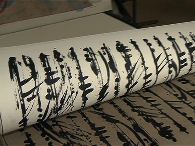 Steindruck-Lithografie