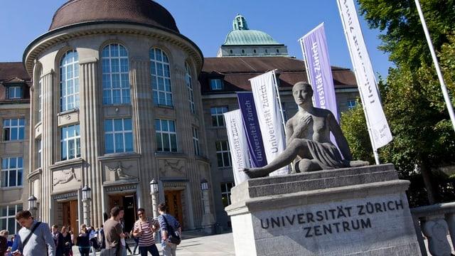 Universität Zürich, Aussenansicht