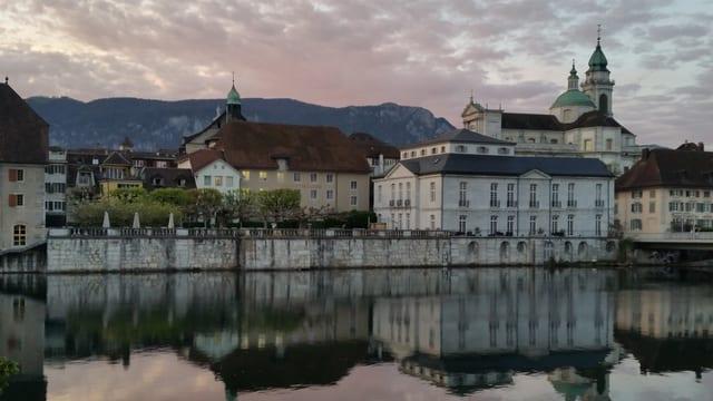 Blick auf Altstadt Solothurn