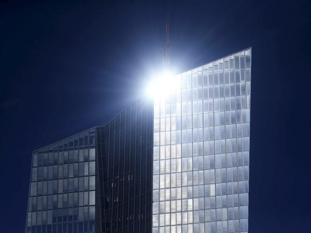 EZB-Hauptsitz in Frankfurt