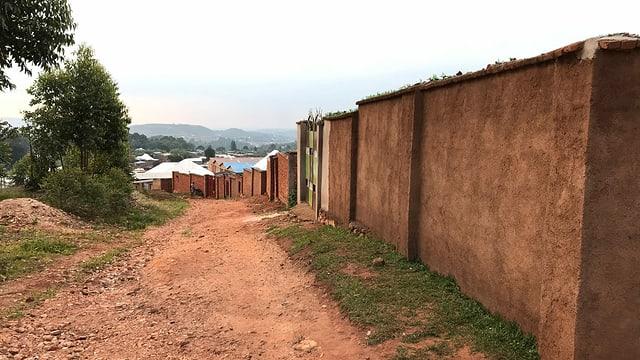 Das Somalia-Quartier in Burundis Hauptstadt Gitega.