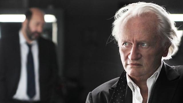 Rickwaert (Kad Merad, l.) und Laugier (Niels Arestrup) in «Baron Noir».