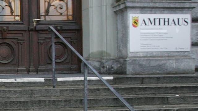 Amtshaus Bern - Sitz des Regionalgerichts Bern-Mittelland
