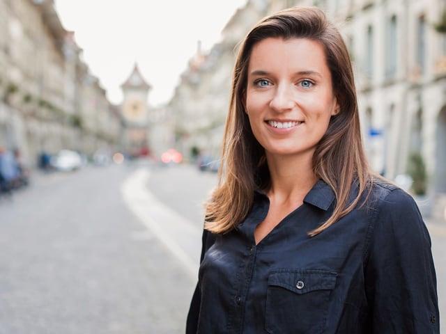 Ellen Sprunger, frühere Siebenkämpferin.