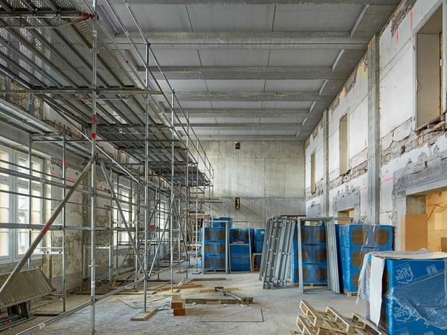 Baustelle Kaserne innen