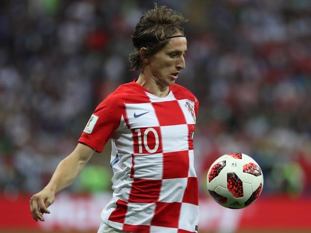 Luka Modric ist offiziell der beste Akteur der WM in Russland.