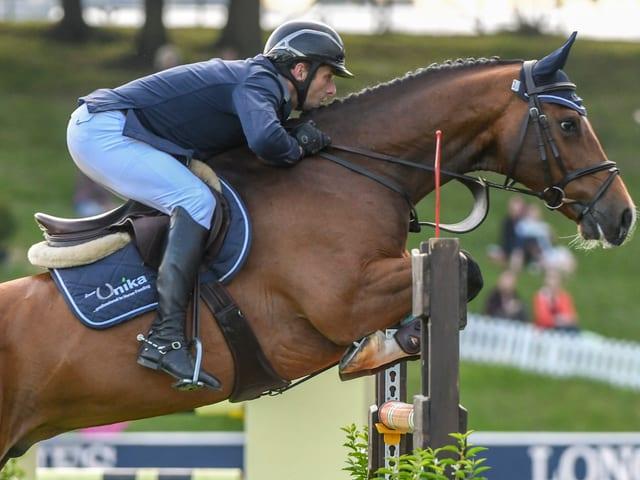 Werner Muff auf Pferd