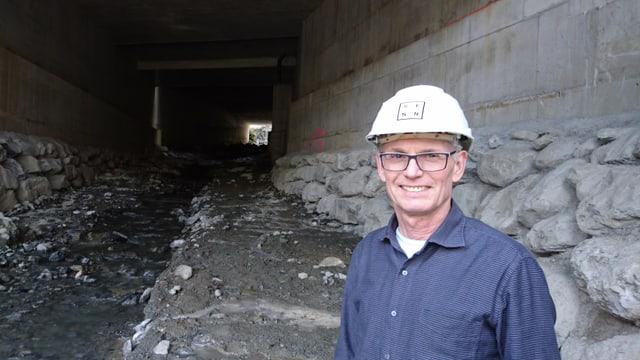 Il maina project Peter Heuscher avant il tunnel.