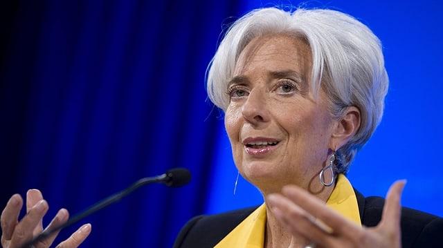 La scheffa dal fond monetar internaziunal, Christine Lagarde