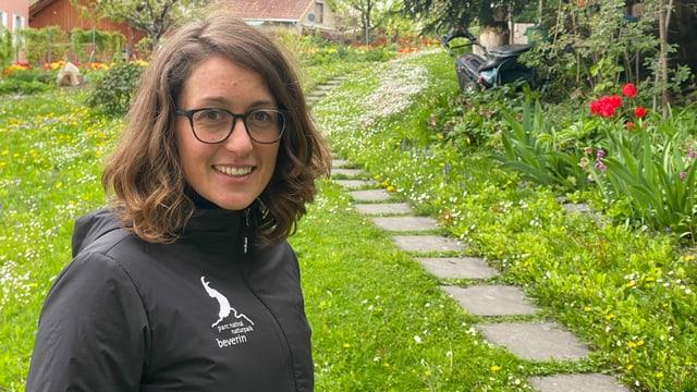 Ramona Liebeton è dapi in onn la directura dal Parc Natiral Beverin.