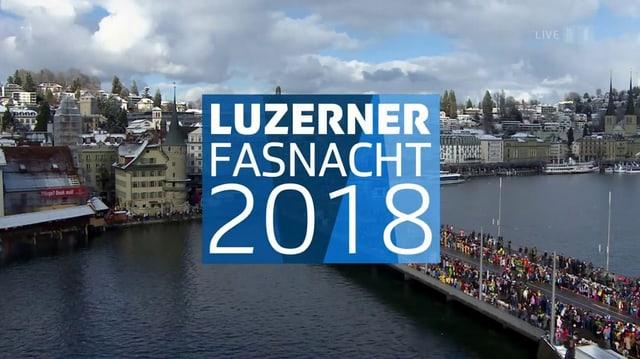 Video «Luzerner Fasnacht 2018: Güdismontag-Umzug» abspielen