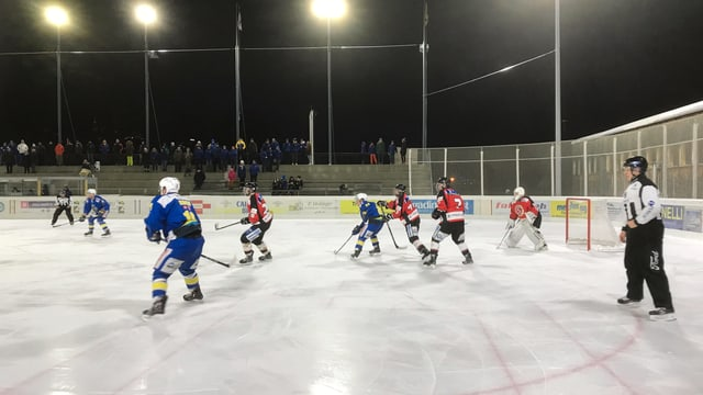 Partida da hockey regiunal