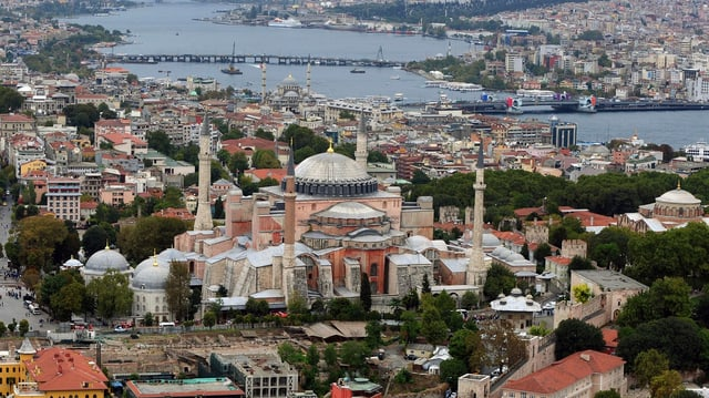 Stadtansicht von Istanbul
