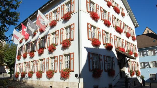 Historisches Stadthaus in Laufen.