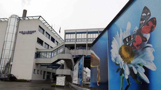 Gebäude des Luzerner Hochdorf-Konzerns