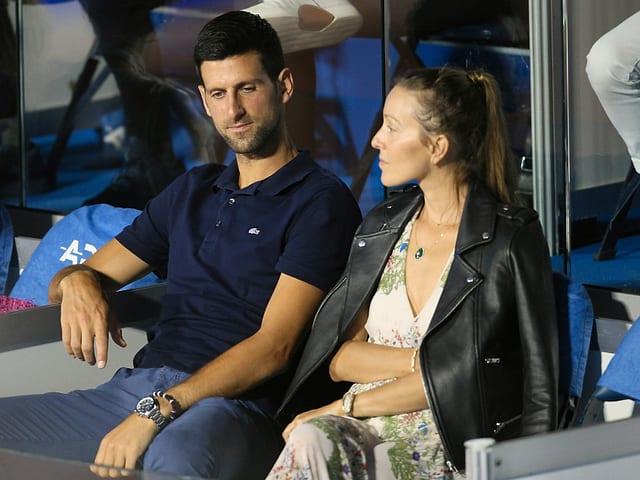 Negativer Corona-Test bei Djokovic und seiner Frau