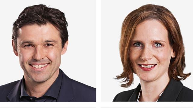 Porträt von einem Mann und einer Frau