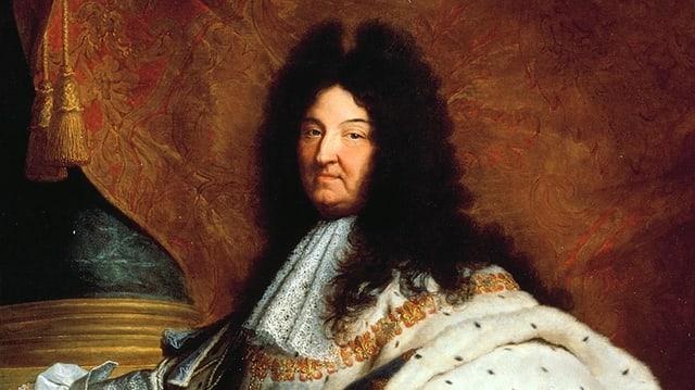 Gemälde mit Louis XIV