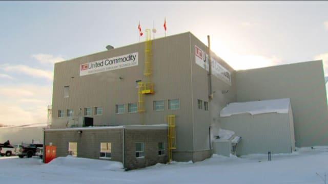 Gebäude von United Commodity in Kanada