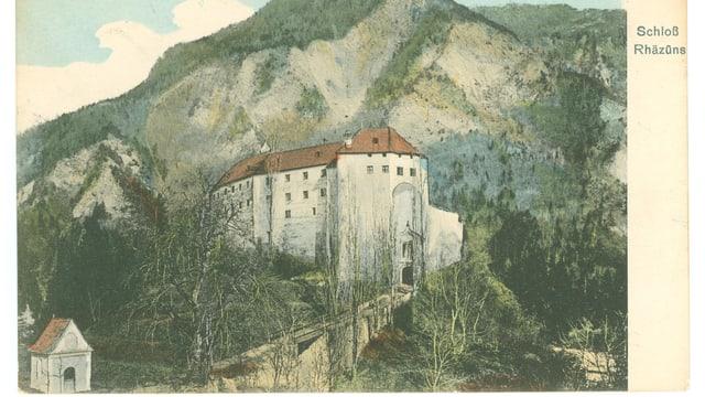 Il chastè da Razén è stat en il temp medieval la sedia dals baruns da Razén.