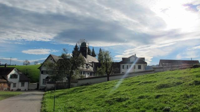 Aussenansicht des Klosters Wonnenstein.