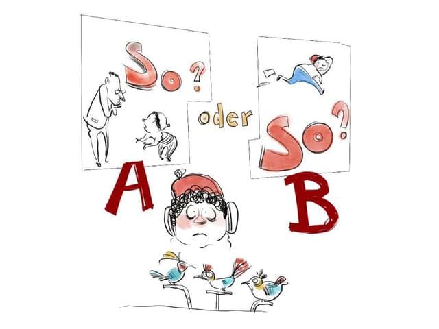 A oder B