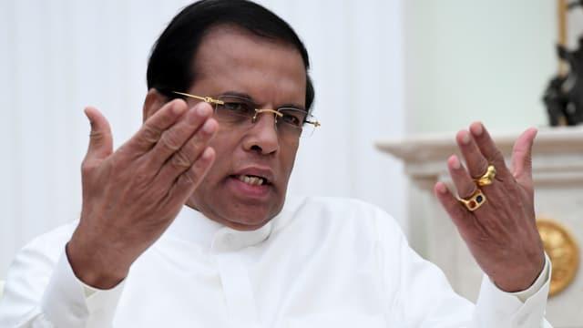 Rajapaksas Nachfolger Sirisana