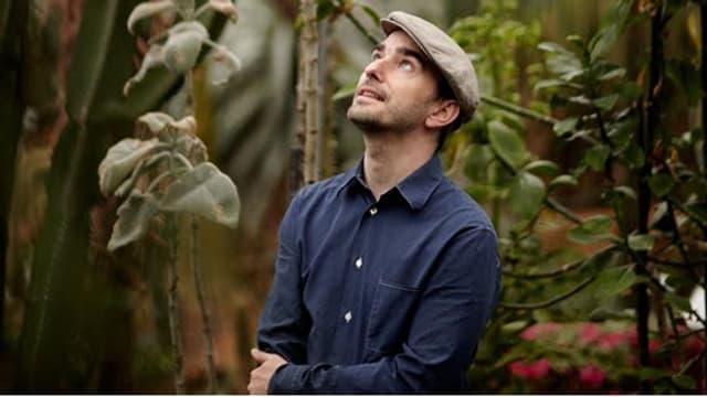 Cyril Boehler alias Zwicker im Botanischen Garten seiner Heimatstadt Zürich