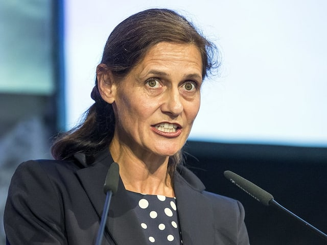 Die Obwaldner Nationalratskandidatin Monika Rüegger.