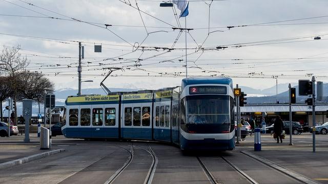 tram blau a Turitg