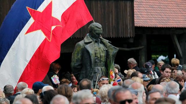 Statue von Tito