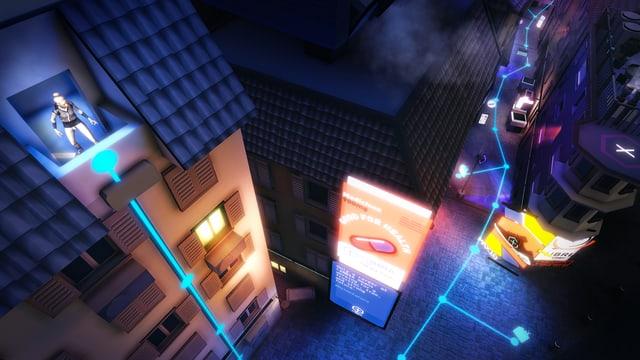 Eine Szene aus dem Game «[re]format Z».