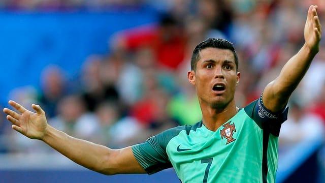 Verzweifelter Ronaldo