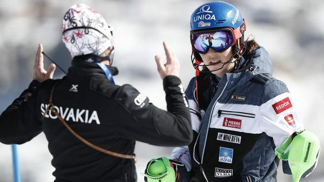 Vlhova gibt Trainer Magoni den Laufpass