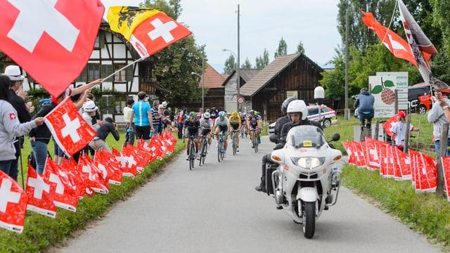 Bern, wie hier bei der Tour de Suisse.