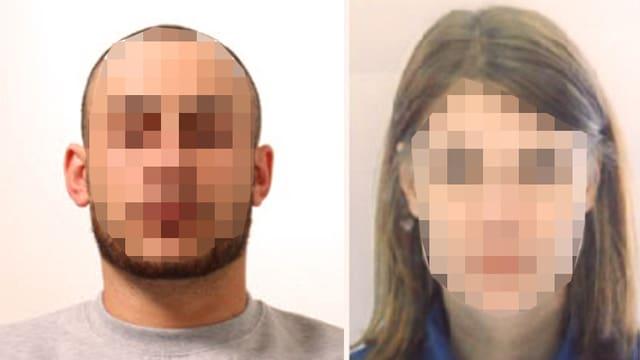 Das geflüchtete Paar wurde offenbar bei Bergamo gefasst.