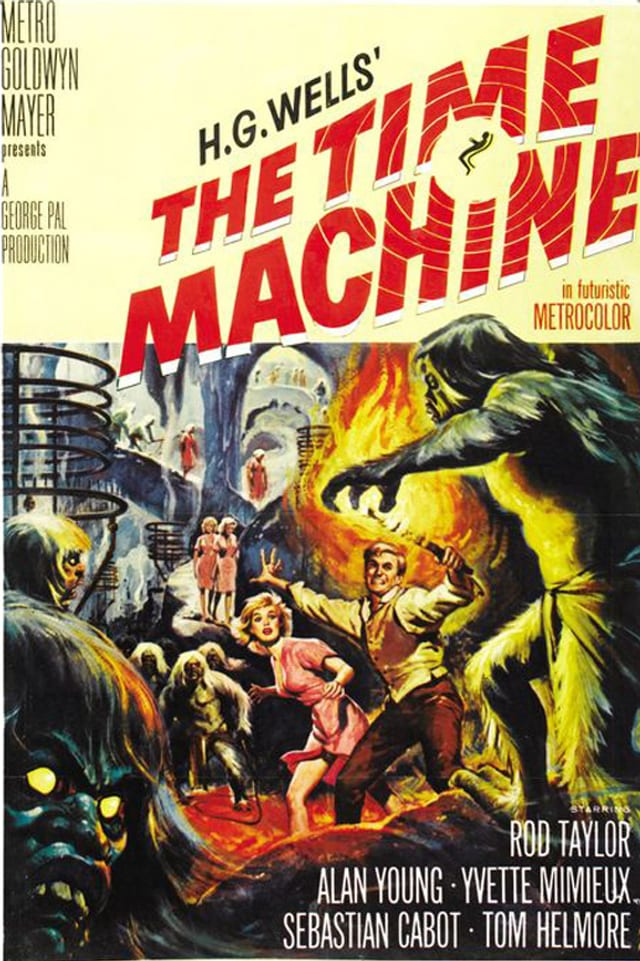 Filmplakat von «The Time Machine»