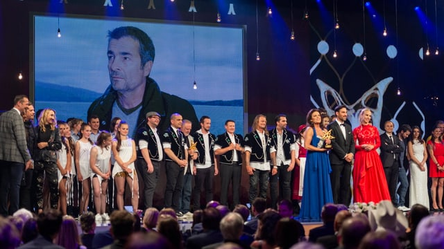 Gäste an der Prix Walo-Verleihung