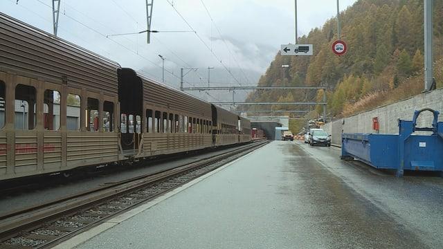 tren, tunnel
