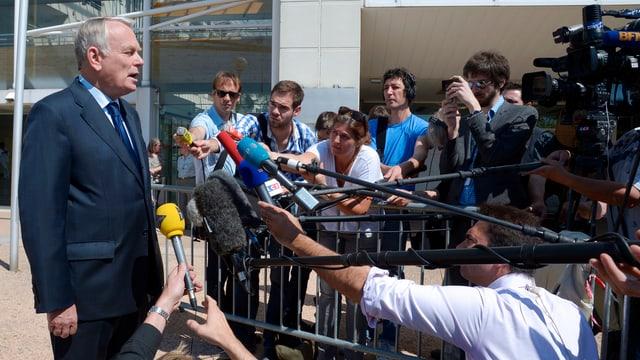 Regierungschef Jean-Marc Ayrault.