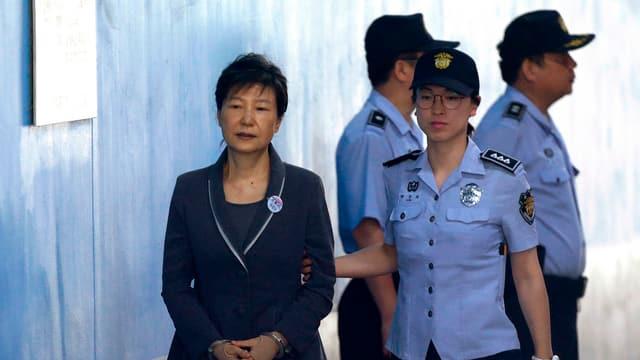 Park Geun Hye.