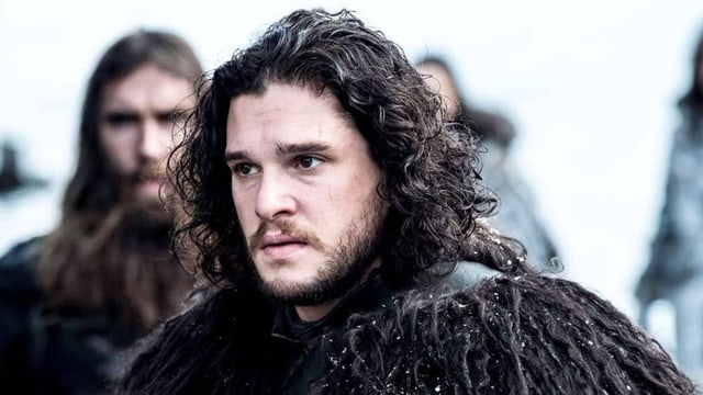 Jon Snow auf Games of Thrones