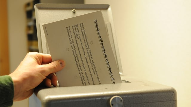 Urna da votar