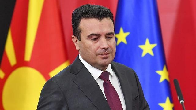 Nordmazedoniens Regierungschef Zoran Zaev