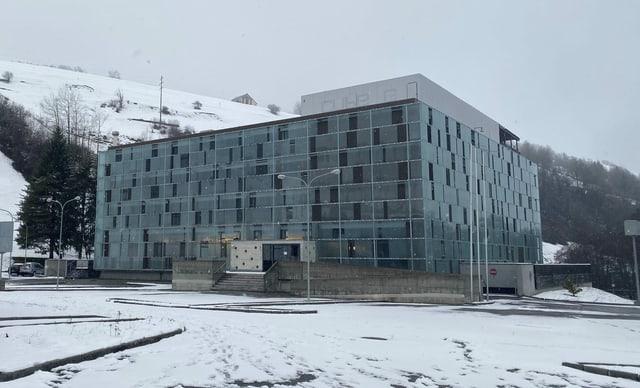 Hotel Cube a Savognin.