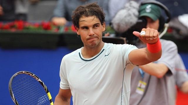 Rafael Nadal bleibt in Barcelona eine Klasse für sich.
