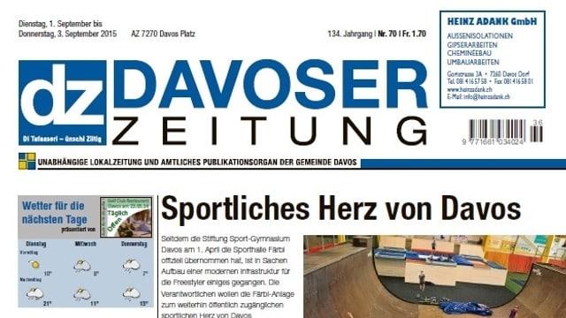 dz Davoser Zeitung