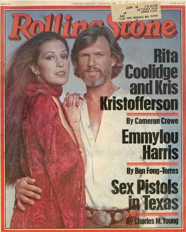 Das Rolling Stone Magazine 1978
